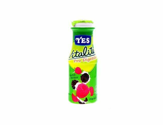 Yogurt YES Frutas del Bosque VitaLite 200ml