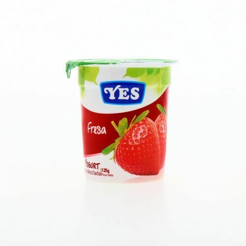 Yogurt YES Fresa  125 gr