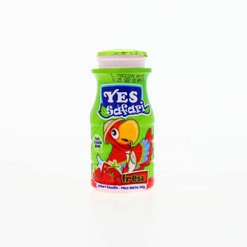 Yogurt YES Liquido Safari Fresa 100ml