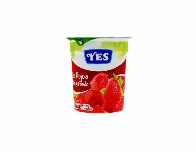 Yogurt YES Frutos Rojos 125 gr