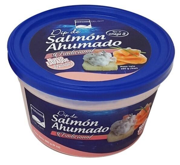 Dip de Salmon Ahumado Gourmar 260 gr