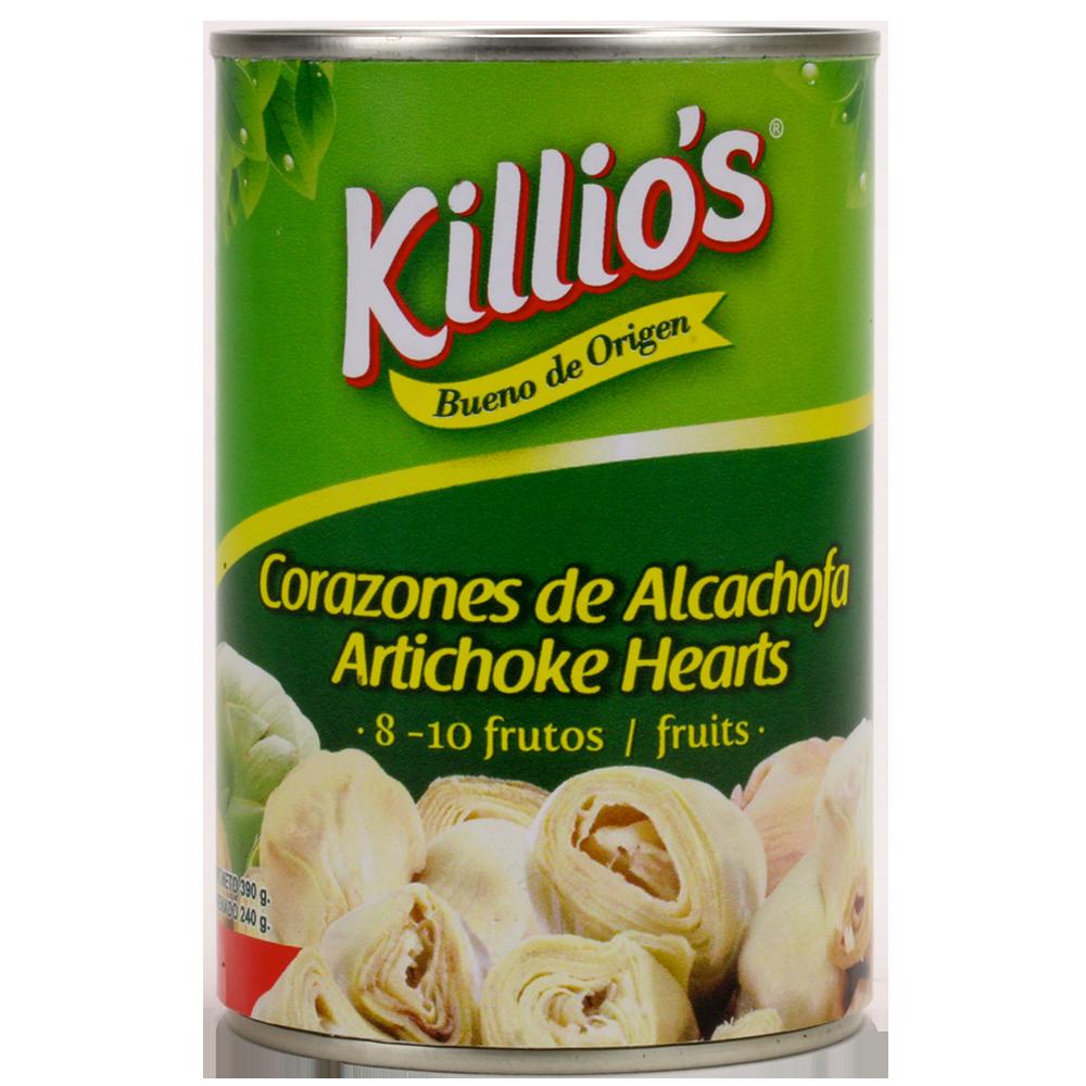 Corazones de Alcachofas Killio's