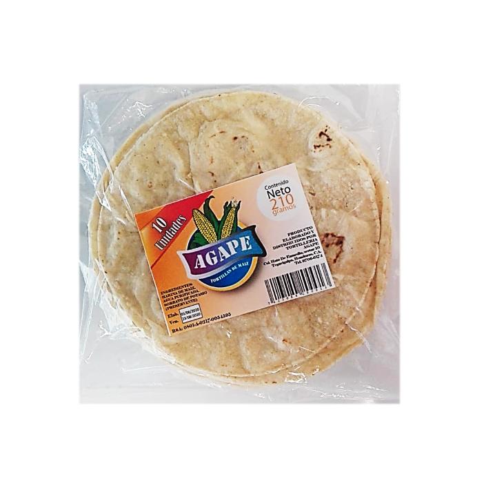 Tortillas de Maiz - Paquete 10 unidades