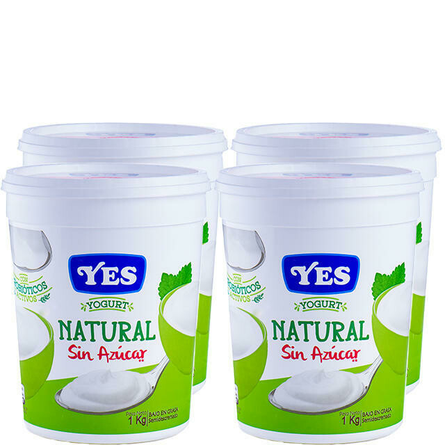 Yogurt YES Natural sin Azucar 1 kg