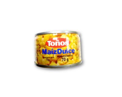 Maiz Dulce 75gr