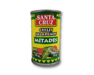 Chiles Jalapeños Mitades 160gr