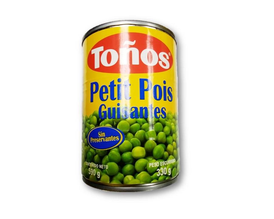 Guisantes (Chicharos/ Petit Pois) 590gr