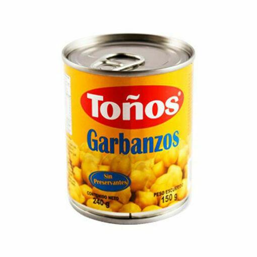 Garbanzos 240gr