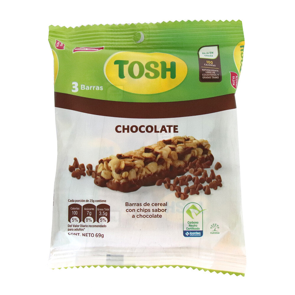 Barra Tosh Chocolate 3Pack