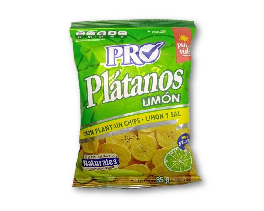 Platano con Limon y Sal 85gr
