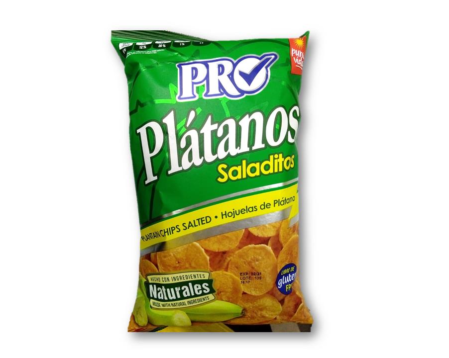 Platanos Salado 160gr