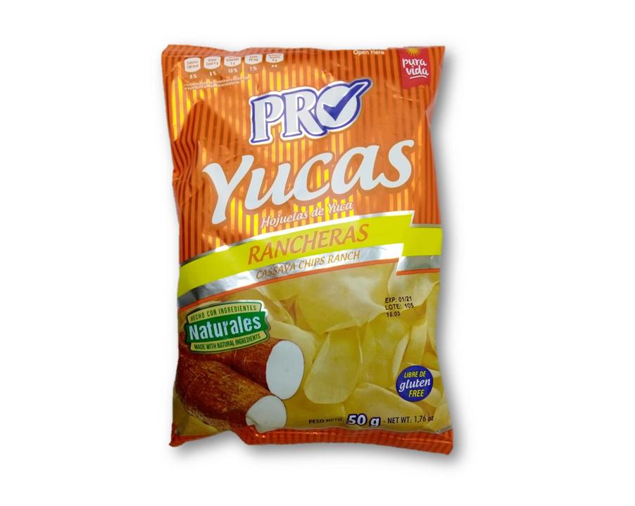 Hojuela de Yuca S/Ranch 50gr