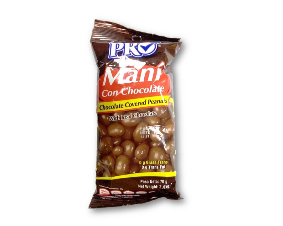 Mani con Chocolate 70gr
