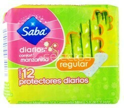 Protector Diario Regular 24x16