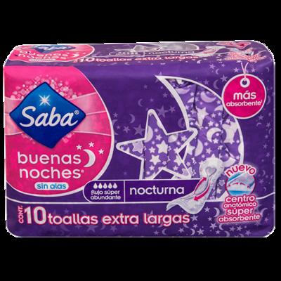 Tolla Saba Buenas Noches Sin Alas 10 unidades