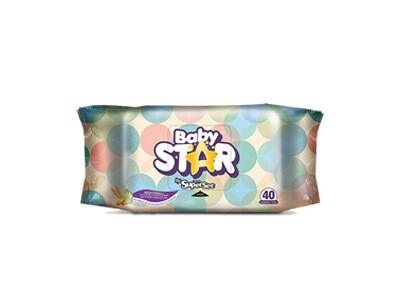 Toallitas Humedas Baby Star 40 unidades
