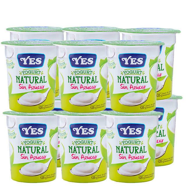 Yogurt YES Natural Sin Azucar 125 gr