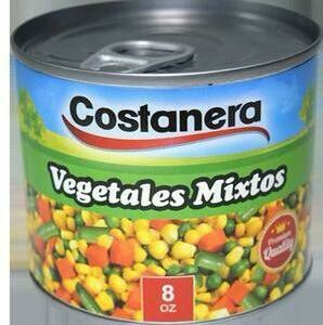 Vegetales Mixtos Costanera 8oz