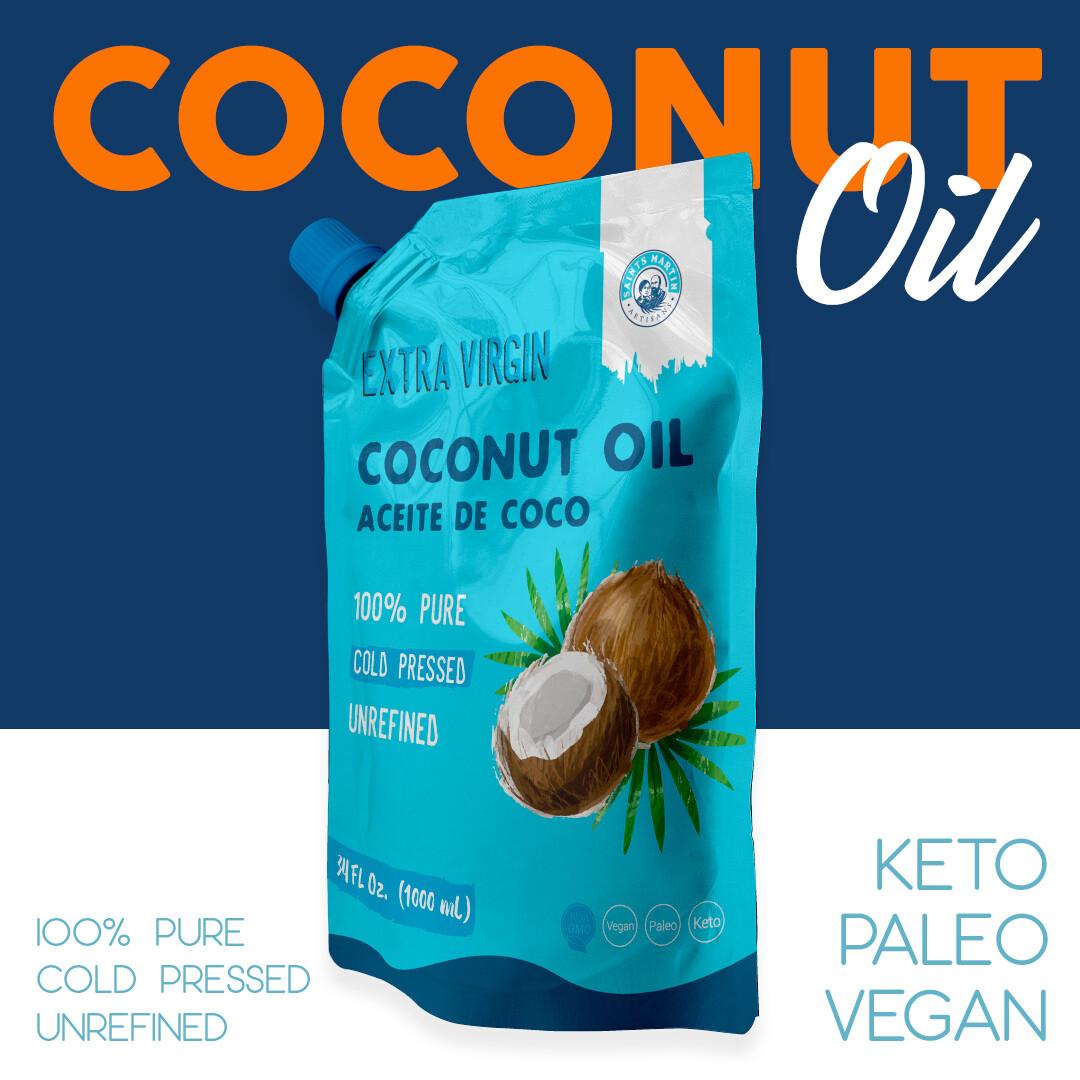 Aceite Vegetal Puro de Coco Saints Martin 500ml