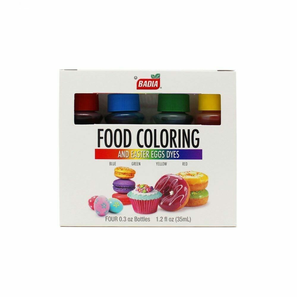 Colorante para Alimentos Badia 1.20 oz