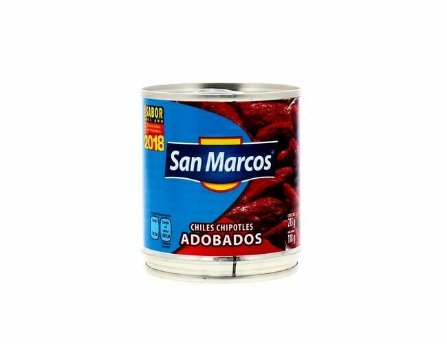 Chile Chipotle Adobado San Marcos 215 grs