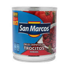 Chile Chipotles en Trocitos San Marcos 215 grs