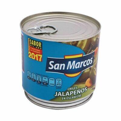 Chiles Jalapeño en Escabeche San Marcos 380grs
