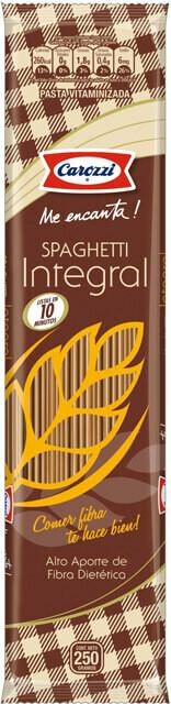 Spaguetti Integral Carozzi 250 grs