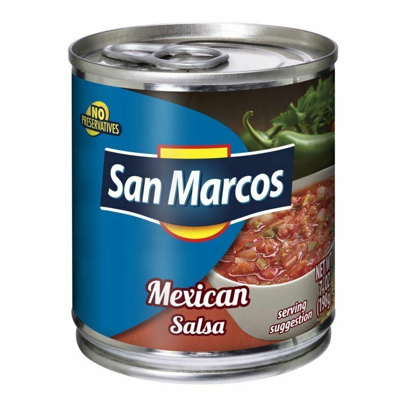 Salsa Mexicana Estilo Casero San Marcos  215 gr