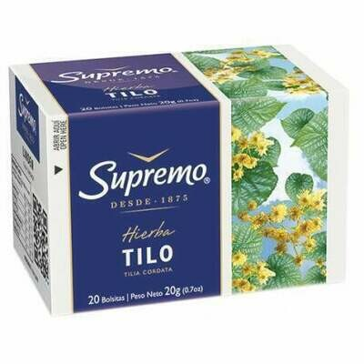 Te de Tilo Supremo  20 bolsas