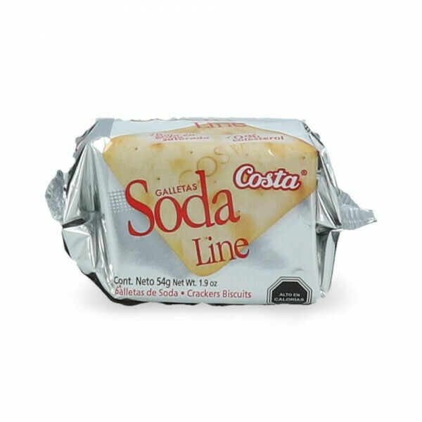 Galleta Costa Soda Cubo Line 54gr