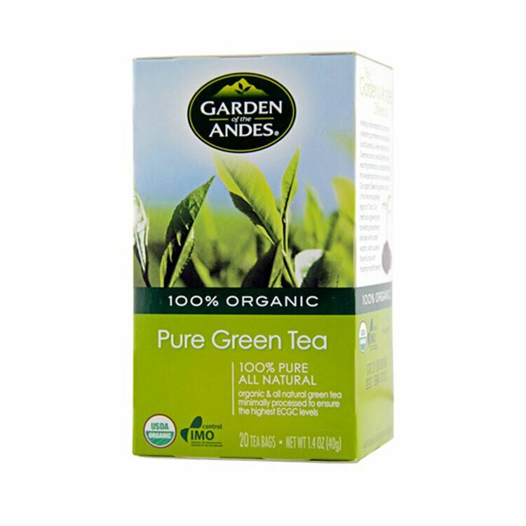 Te Verde Organico  20 bolsas