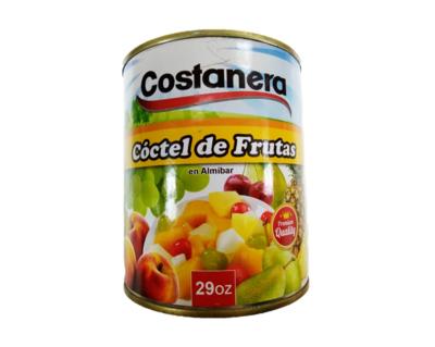 Coctel de Frutas en Almibar Costanera 29oz