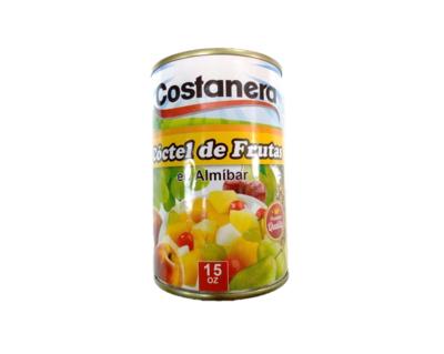 Coctel de Frutas en Almibar  Costanera 15oz
