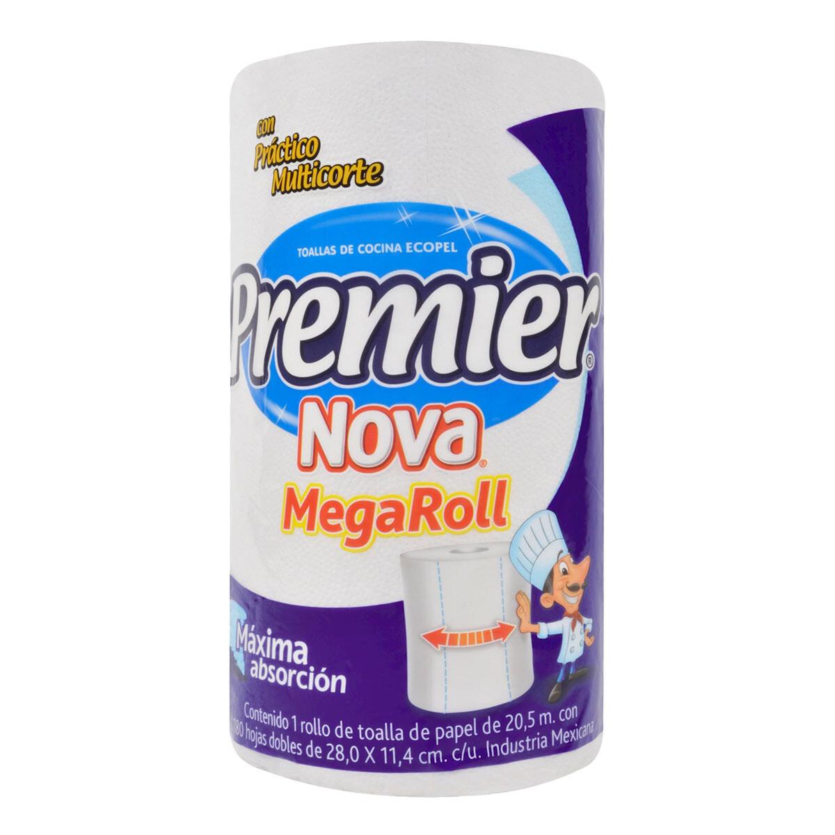 Papel Toalla Premier Megaroll 22m 180HD (28X11.4CM)