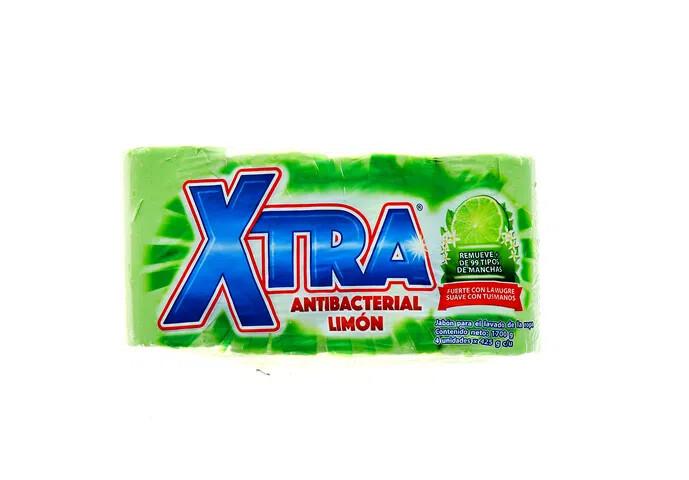 Jabon Xtra Antibacterial 4pack 425g