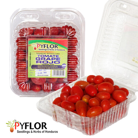 Tomate Grape Rojo Pyflor 1 Lb