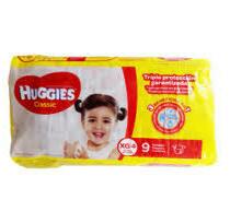 Pañales Huggies Classic Extra Grande 9 unidades XG4