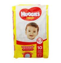 Pañales Huggies Classic Grande 10 unidades G3