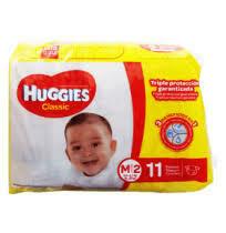 Pañales Huggies Classic Mediano 11 unidades M2