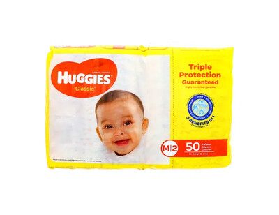 Pañales Huggies Classic Mediano 50 unidades M2