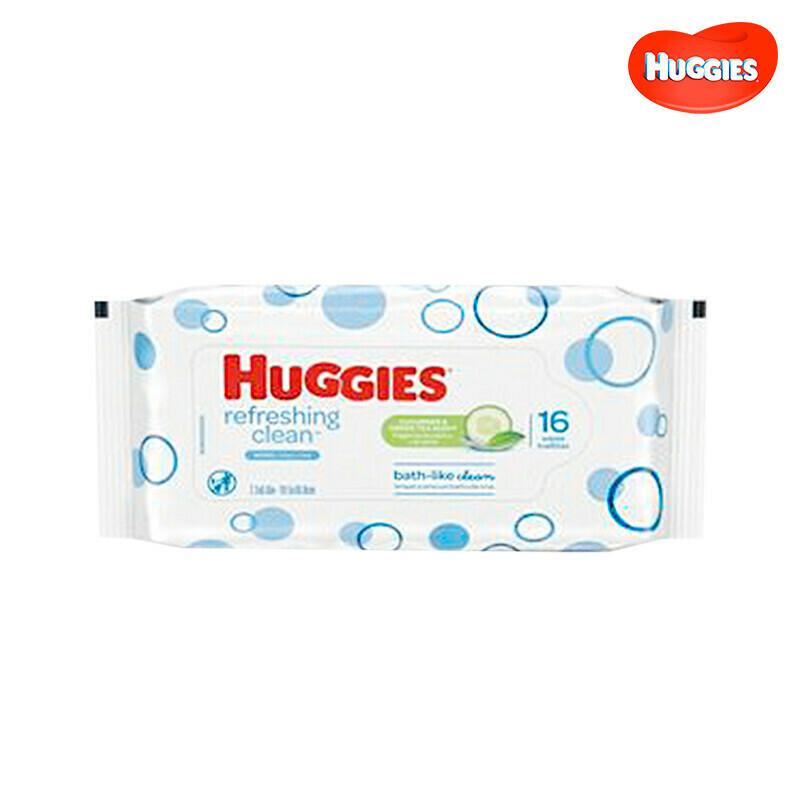 Toallitas Humedas Huggies Refresh Clean 16 Unidades