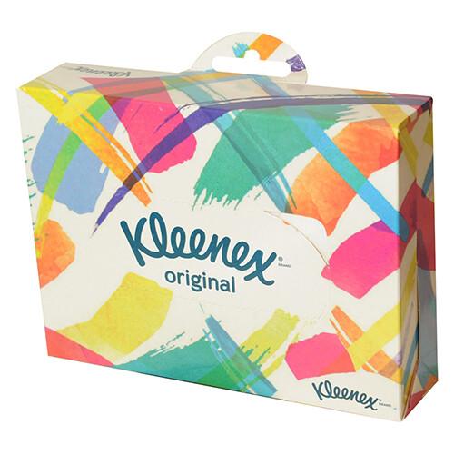 Pañuelo Desechable Kleenex Viajero/Original 34 Unidades