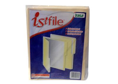 Folder Manila Isifile T/ Carta Caja 100 unidades