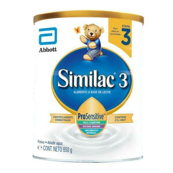 Similac 3 Pro Sensitive HMO 850 Gramos - Formula Infantil