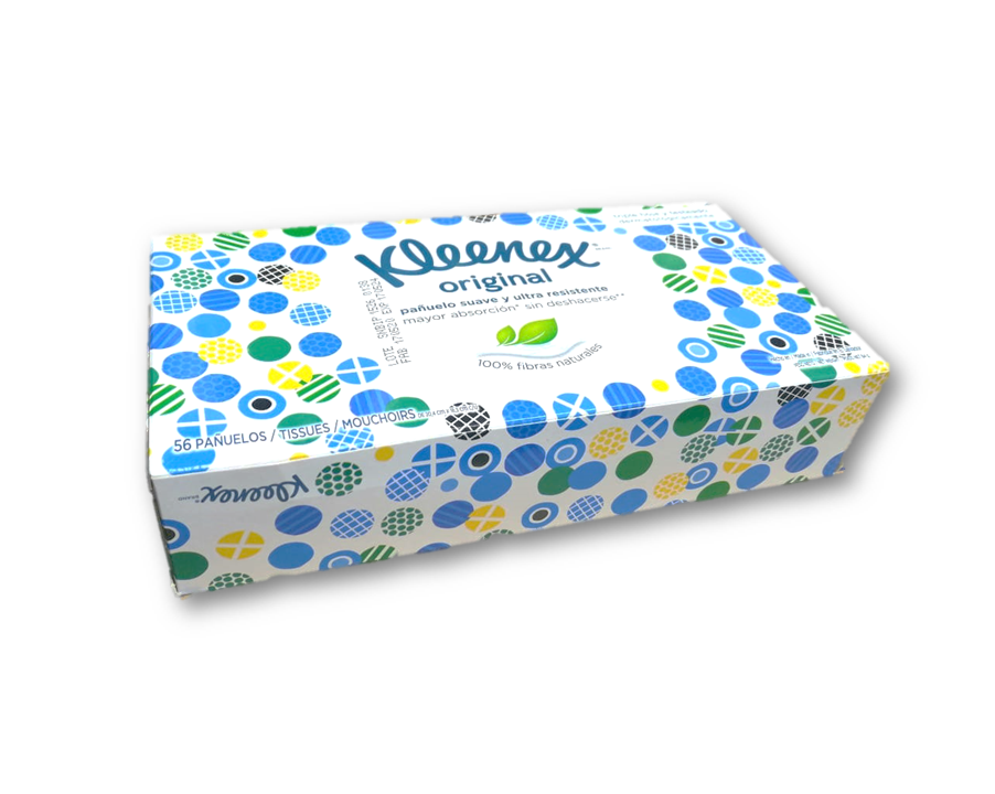 Pañuelo Desechable Kleenex Original Classic  56 Unidades