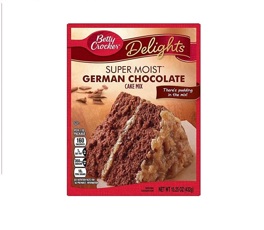Harina para Pastel Betty Crocker Chocolate Aleman 432gr
