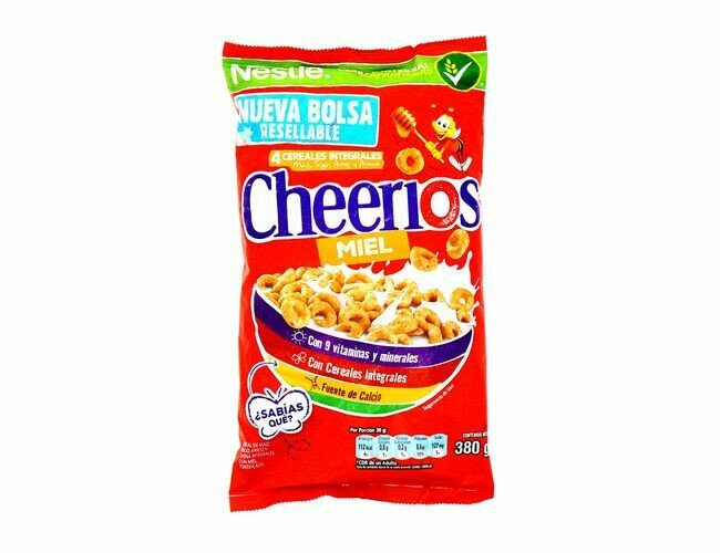 Cheerios Cereal Honey 380gr