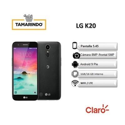 LG K20 LMX120HM NG Negro (P)  INCLUYE RECARGA DE L. 50
