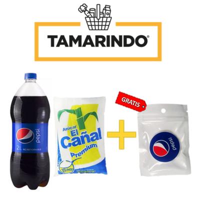 Promoción Pepsi Botella 2L + Azucar El Cañal Premium 750 gramos + Pop Socket Pepsi Gratis